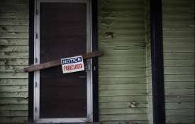 Dealing With the Impact of Foreclosures on Municipalities and Communities